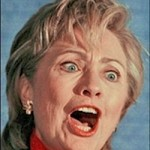 Angry Clinton