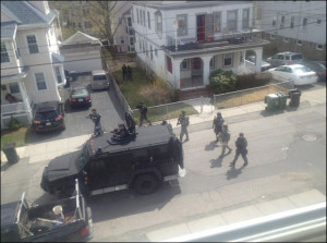 Militarized Police in Watertown
