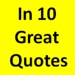 In 10 Great Quotes